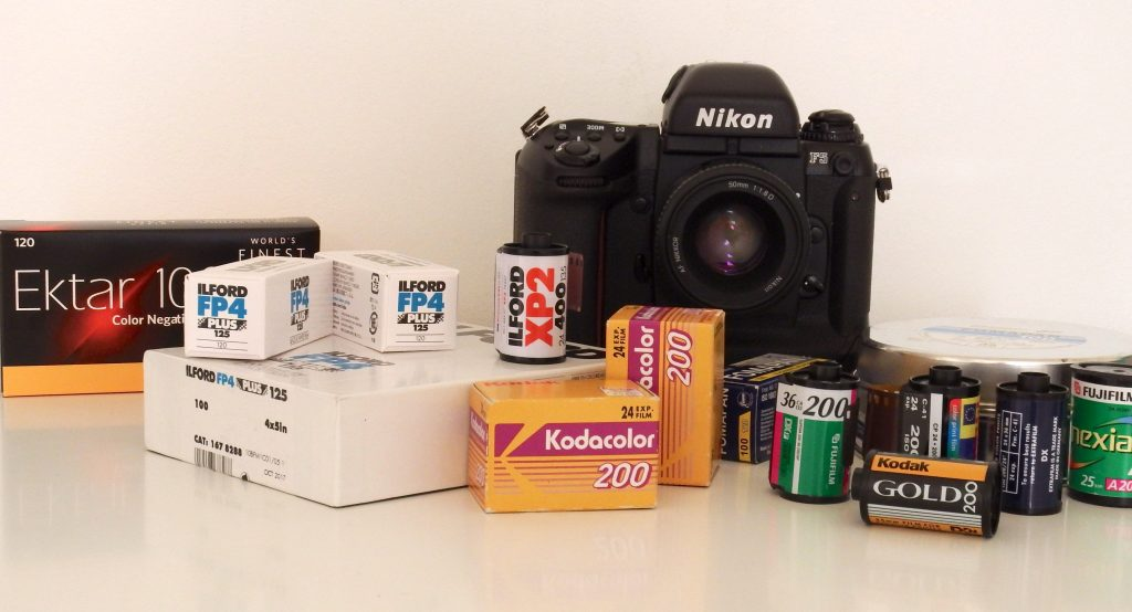 My trusted old Nikon Fxxx and a bunch of different film stocks